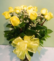 Sunny Roses from local Myrtle Beach florist, Bright & Beautiful Flowers
