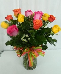 Rose Garden from local Myrtle Beach florist, Bright & Beautiful Flowers