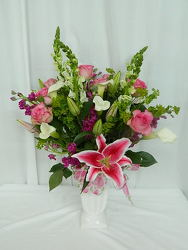 Filled with Love from local Myrtle Beach florist, Bright & Beautiful Flowers