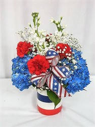 Stars and Stripes Forever from local Myrtle Beach florist, Bright & Beautiful Flowers