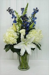 Heavenly Journey from local Myrtle Beach florist, Bright & Beautiful Flowers