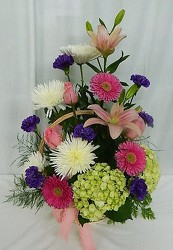 Spring Tribute from local Myrtle Beach florist, Bright & Beautiful Flowers