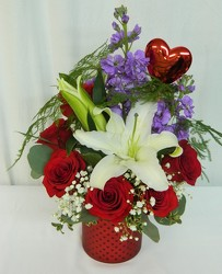 Lots of Love from local Myrtle Beach florist, Bright & Beautiful Flowers