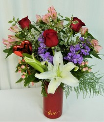 Sentimental Lady from local Myrtle Beach florist, Bright & Beautiful Flowers