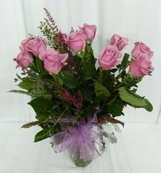 Passionate for Purple from local Myrtle Beach florist, Bright & Beautiful Flowers