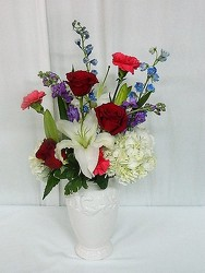 Victorian Romance from local Myrtle Beach florist, Bright & Beautiful Flowers