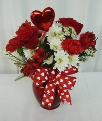 Love Struck from local Myrtle Beach florist, Bright & Beautiful Flowers