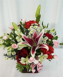 Be My Love from local Myrtle Beach florist, Bright & Beautiful Flowers