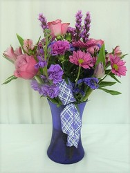 A Passion for Purple from local Myrtle Beach florist, Bright & Beautiful Flowers