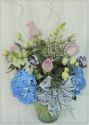 True Blue from local Myrtle Beach florist, Bright & Beautiful Flowers